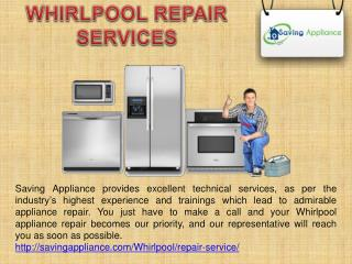 Whirlpool Repair Services