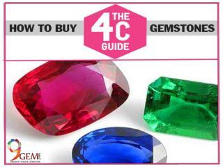 How to Buy Gemstone Online - 4Cs