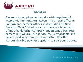 Axcero Resource Management Pvt Ltd