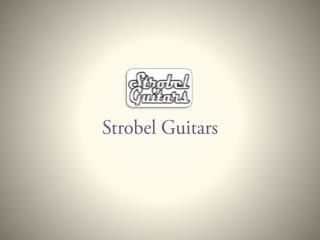 Portable Guitars for Sale - Strobel Guitars