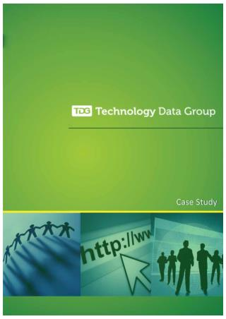 Top Technology Users Mailing List | Technology Data Group
