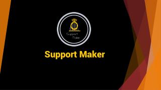 support maker 3D Printing software