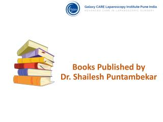 Most Referred Publications by Dr. Shailesh Puntambekar