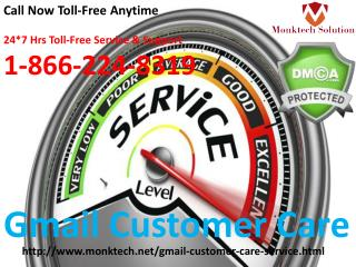 24*7 Effective & Secure Gmail Customer Care @ 1-866-224-8319