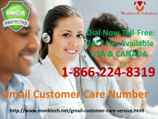 USA Gmail Login Issue Gmail Customer Care Number 1-866-224-8319