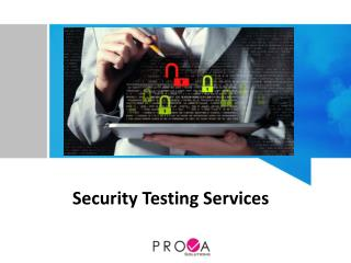 Security Testing Services Singapore
