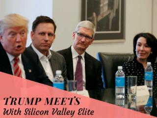 Trump meets with Silicon Valley elite
