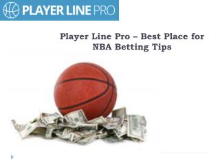 Get Upto 5 Daily Tips Exclusive for NBA - Player Line Pro
