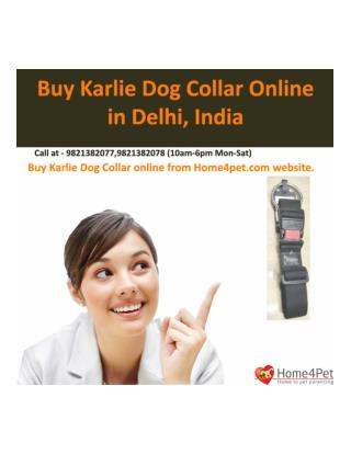 Buy Karlie Dog Collar Online in Delhi, India