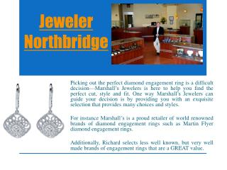 Jeweler store northbridge