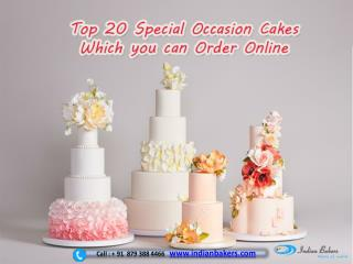 Special Occasion Cakes/ Party Cakes