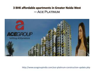 3 BHK Affordable Apartments in Greater Noida West