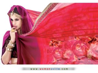 Fashinable Womansvilla Saree Online Collection