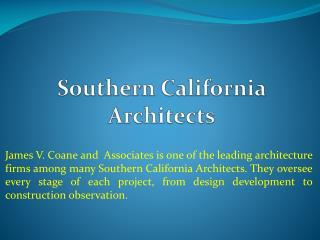 Southern California Architects