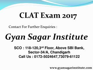 CLAT Coaching in Chandigarh