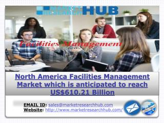 North America Facilities Management Market which is anticipated to reach US$610.21 Billion in forecast 2016-2024, says T