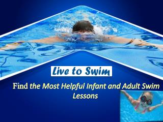 Adult and Infant Swim Lessons
