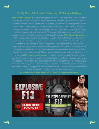 http://www.healthsupreviews.com/ef13-muscle-supplement-reviews/