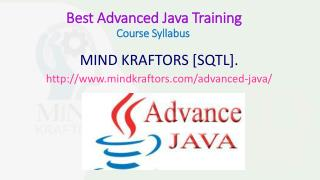 Advanced java training center in pune- Mindkraftors