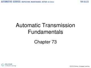 Automatic Transmission Fundamentals