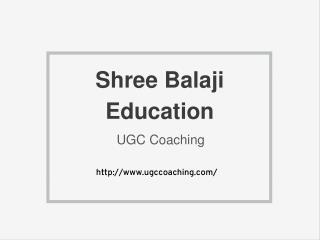 Shree Balaji Education