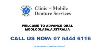 Affordable Advance Oral Dentures Services in Moolaalaba QLD