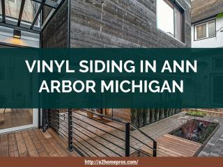 Vinyl Siding In Ann Arbor Michigan