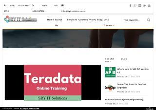 What is hidden in version 15.0 of Teradata