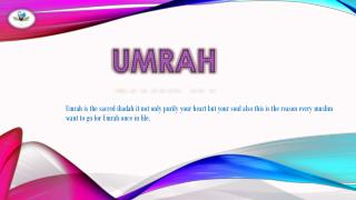 umrah packages birmingham