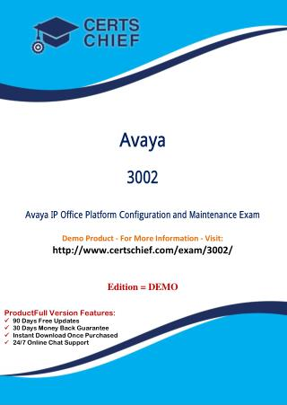 3002 Certification Study Guide