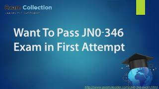 Examsleader JN0-346 Questions Answers