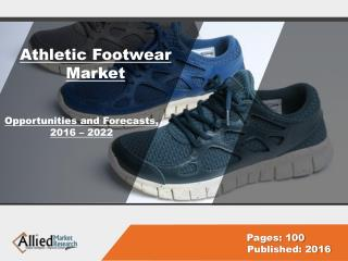 Athletic Footwear Market Share & Industry Growth, 2022