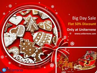 Great Big Day Sale- Flat 50% Discount on Web Design and Digital Marketing