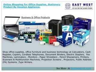 Online Buy Office Supplies