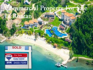 Online Buy Commercial Property For Sale In Roatan
