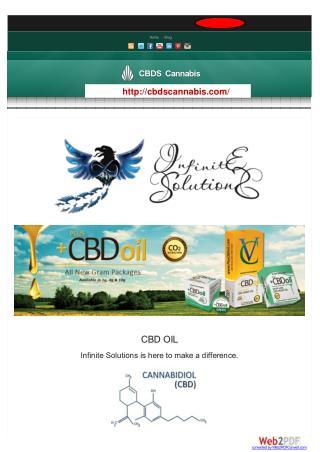 CBD Oil | CBD cannabis