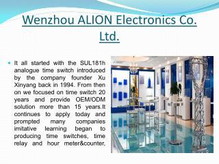 Wenzhou ALION Electronics Co., Ltd