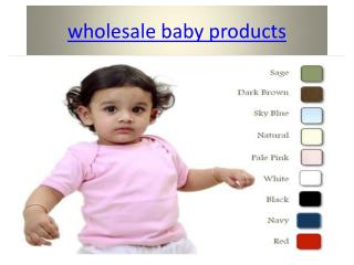 baby accessories wholesale