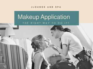 How To Apply The Makeup?- Some Simple Tricks