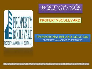 Professional reliable property management software