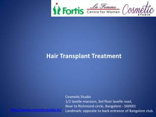 hair fall treatment in bangalore