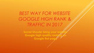 I will create your website Google high ranking