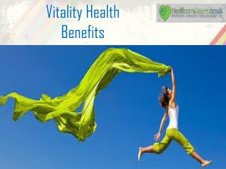 Vitality Health Benefits