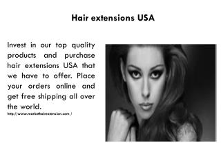 Hair extensions USA
