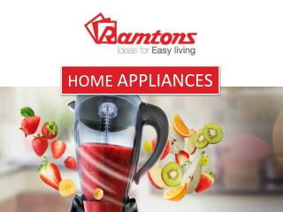 Large Home And Kitchen Appliances