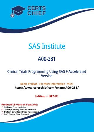 A00-281 Certification Practice Test