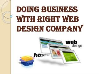 Benefits of Web Design Company in Business