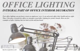 Why good lighting solutions are vital to offices