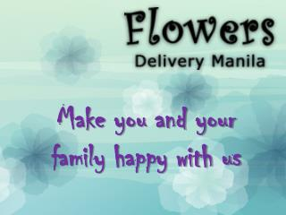 Online Flowers Free Delivery Shop in Manila