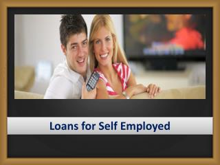 Loans for Self Employed | No Fee Loans v Loans on Benefits No Guarantor